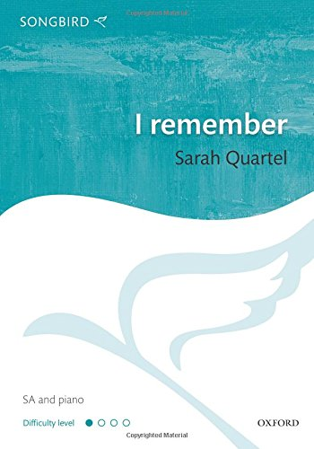9780193392281: I remember: Vocal score (Songbird)