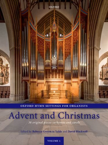 9780193392335: Oxford Hymn Settings for Organists: Advent and Christmas: 38 original pieces on hymns and carols