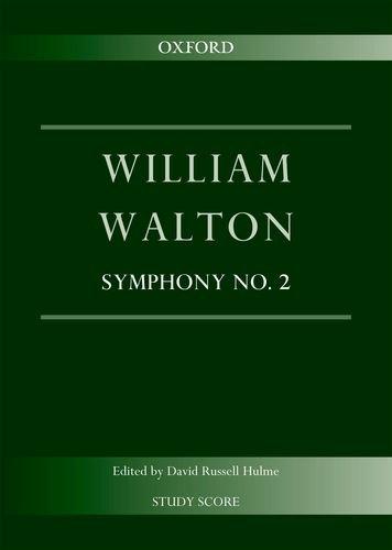 9780193392441: Symphony No. 2: Study score (William Walton Edition)