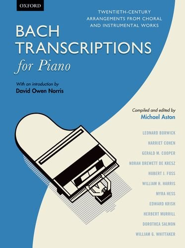 9780193392618: Bach Transcriptions for Piano: Twentieth-century arrangements from choral and instrumental works