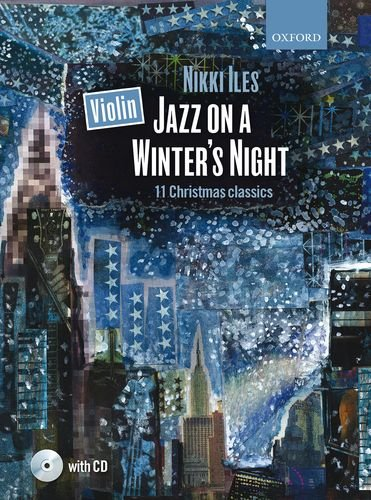 9780193393448: Violin Jazz on a Winter's Night + CD: 11 Christmas classics (Nikki Iles Jazz series)