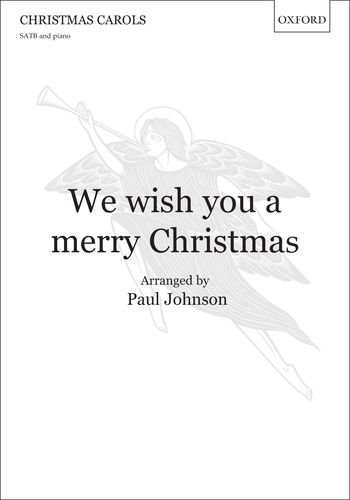 9780193393813: We wish you a merry Christmas: Vocal score
