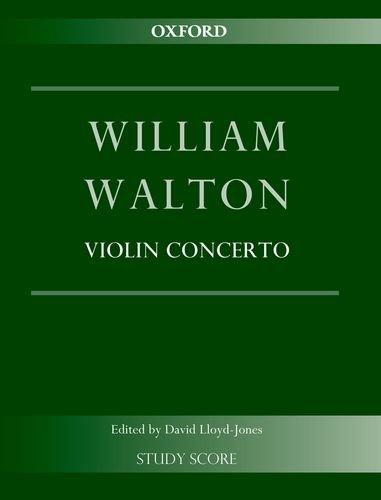9780193398153: Violin Concerto: Study score (William Walton Edition)