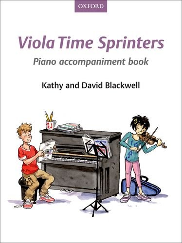 9780193398528: Viola Time Sprinters Piano Accompaniment Book