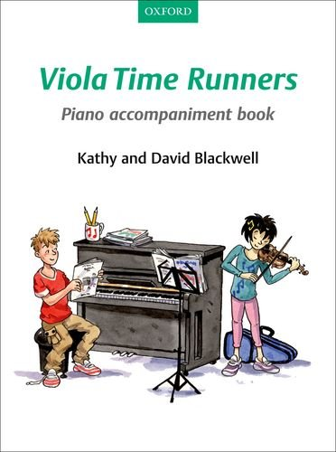 9780193398535: Viola Time Runners Piano Accompaniment Book