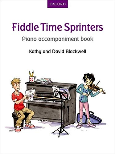 9780193398580: Fiddle Time Sprinters Piano Accompaniment Book