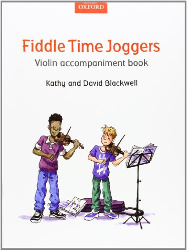 9780193398610: Fiddle Time Joggers Violin Accompaniment Book