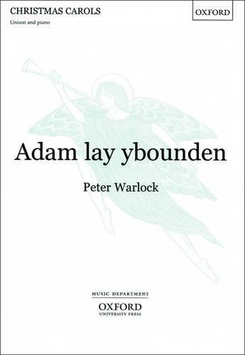 9780193401068: Adam lay ybounden: Vocal Score