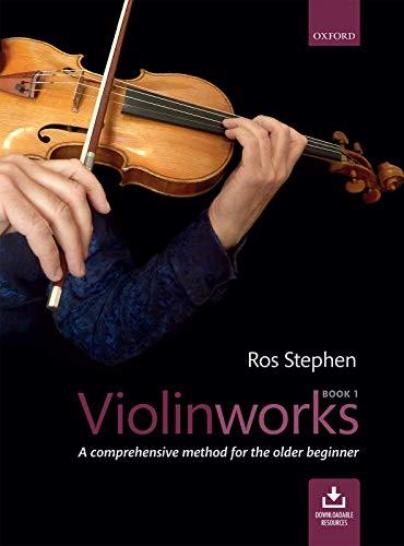 9780193402676: Violinworks Book 1 + CD: A comprehensive method for the older beginner