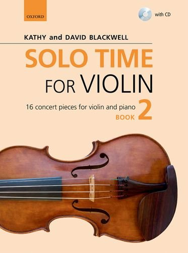 9780193404786: Solo Time for Violin Book 2 + CD: 16 concert pieces for violin and piano (Fiddle Time)
