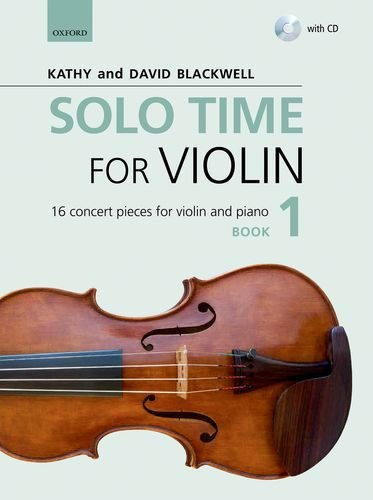 9780193404793: Solo Time for Violin Book 1 + CD: 16 concert pieces for violin and piano