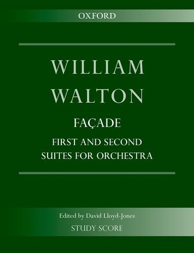 9780193405691: Facade: First and Second Suites for Orchestra: Study Score (William Walton Edition)