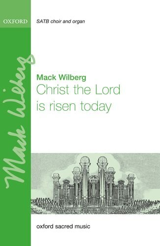 9780193406179: Christ the Lord is risen today: Vocal score