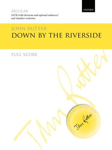 9780193407329: Down by the riverside: Full score