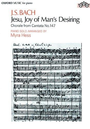 Jesu, joy of man s desiring: SA