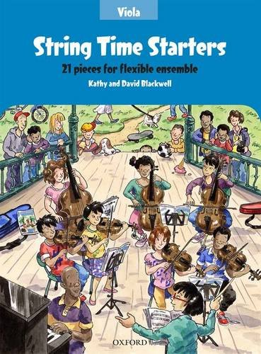 9780193411531: String Time Starters Viola book: 21 pieces for flexible ensemble (String Time Ensembles)