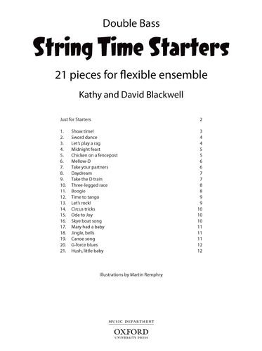 9780193411616: String Time Starters: 21 pieces for flexible string ensemble (String Time Ensembles)