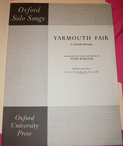 9780193428379: Yarmouth Fair