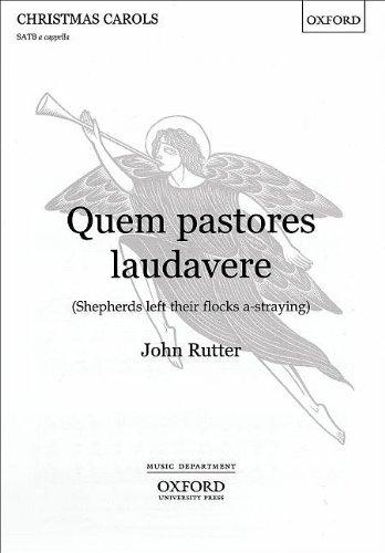 9780193430129: Quem pastores laudavere: Vocal score