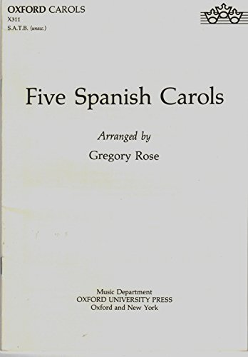 9780193431096: Five Spanish Carols
