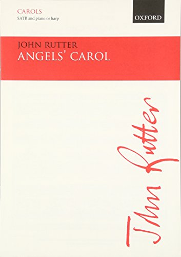 9780193431263: Angel's Carol: SATB Vocal Score (Oxford carols)