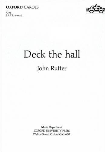 9780193431379: Deck the hall: Vocal score (Oxford carols)