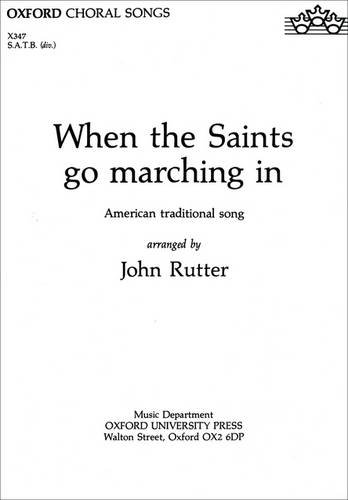 9780193431515: When the Saints go marching in: Vocal score