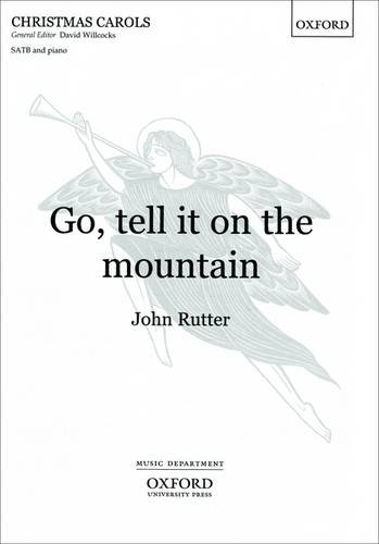 9780193431829: Go, tell it on the mountain: Vocal score