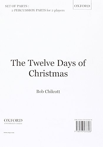 9780193433328: The Twelve Days of Christmas: Percussion part (version for two players)
