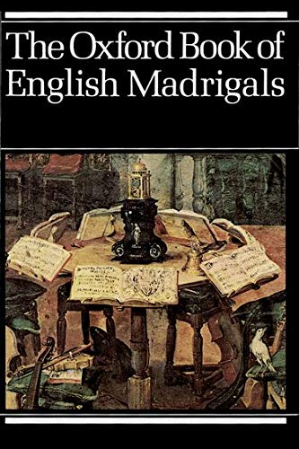 9780193436640: The Oxford Book of English Madrigals: Vocal score