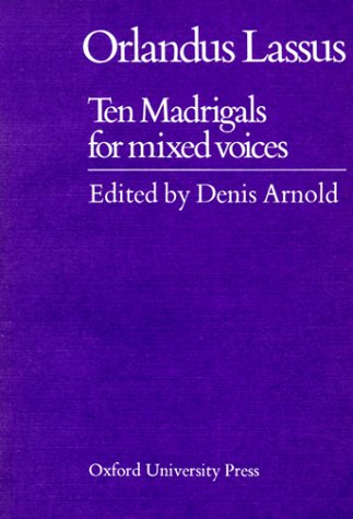 9780193436756: Ten Madrigals for Mixed Voices