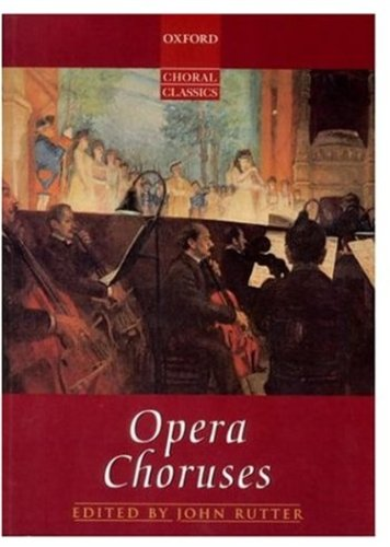 Opera Choruses: Vocal score on sale
