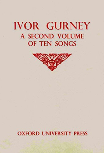 9780193453982: A second volume of ten songs
