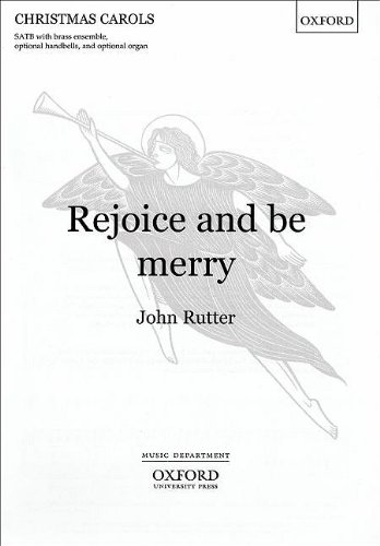 9780193468320: Rejoice and be merry: Vocal Score