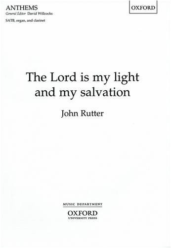 The Lord is my light and my