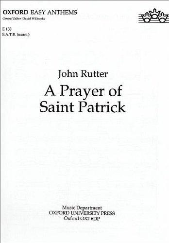 9780193511446: A Prayer of Saint Patrick (Oxford anthems)