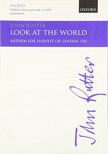9780193511514: Look at the world: Vocal score
