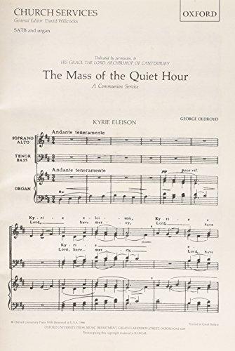9780193515352: Communion Service: 'The Mass of the Quiet Hour': Vocal score