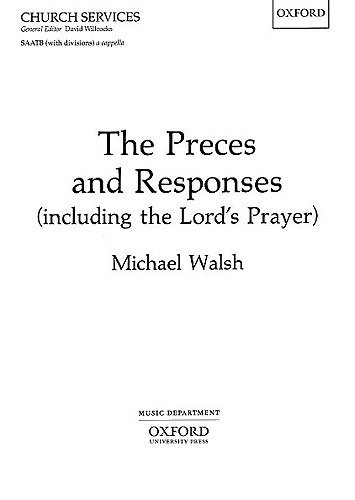 The Preces And Responses (including The Lord's