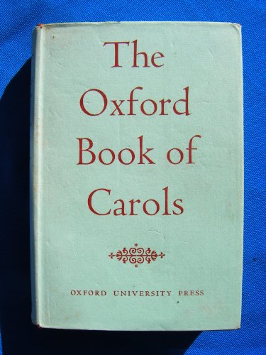 9780193533141: The Oxford Book of Carols: Music edition