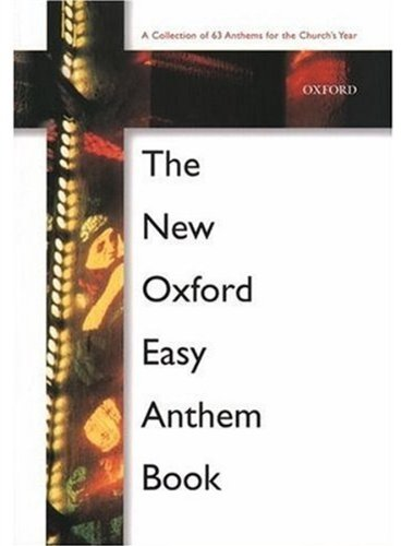 9780193533189: The New Oxford Easy Anthem Book: Paperback