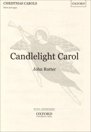9780193533653: Candlelight Carol: SSAA vocal score