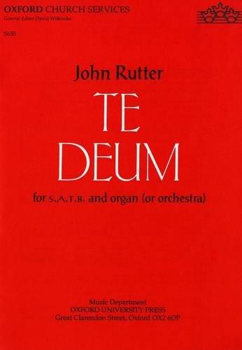 9780193533707: Te Deum: Vocal score (Oxford church services)