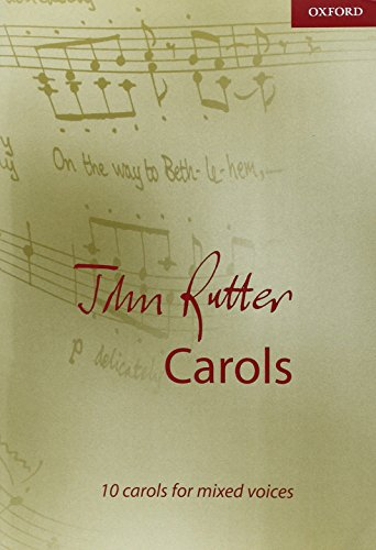 9780193533813: John Rutter Carols: 10 carols for mixed voices