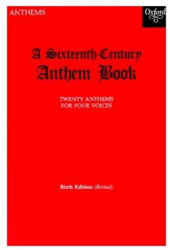 9780193534070: Sixteenth Century Anthem Book (Oxford Anthems)