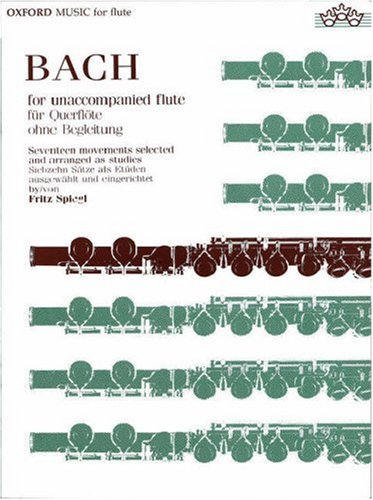 9780193552845: Bach for Unaccompanied Flute