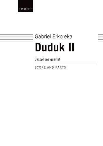 9780193563858: Duduk II: Score and parts