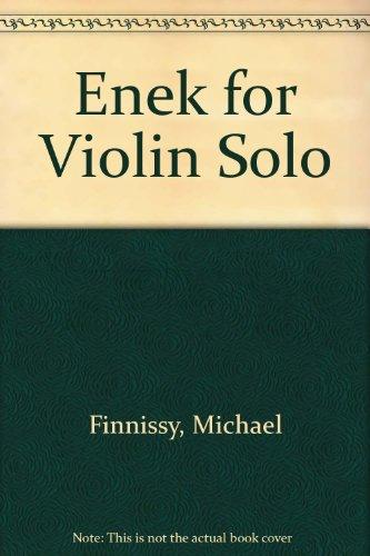 9780193564411: Enek for Violin Solo