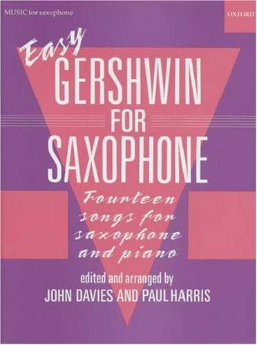 9780193566798: Easy Gershwin for Saxophone
