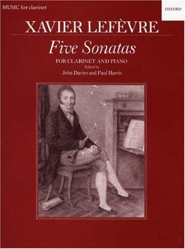 9780193575516: Five Sonatas for Clarinet & Piano